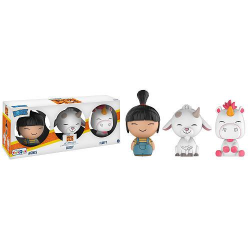 Despicable Me 3 - Fluffy/Agnes/Lucky - 3 Pack