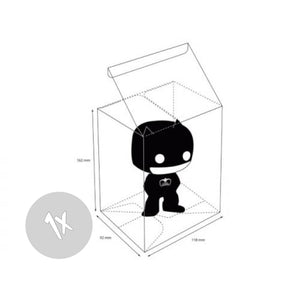 Funko Pop Protectors - Soft Pop! Vinyl, Collekt - Collekt.co.uk