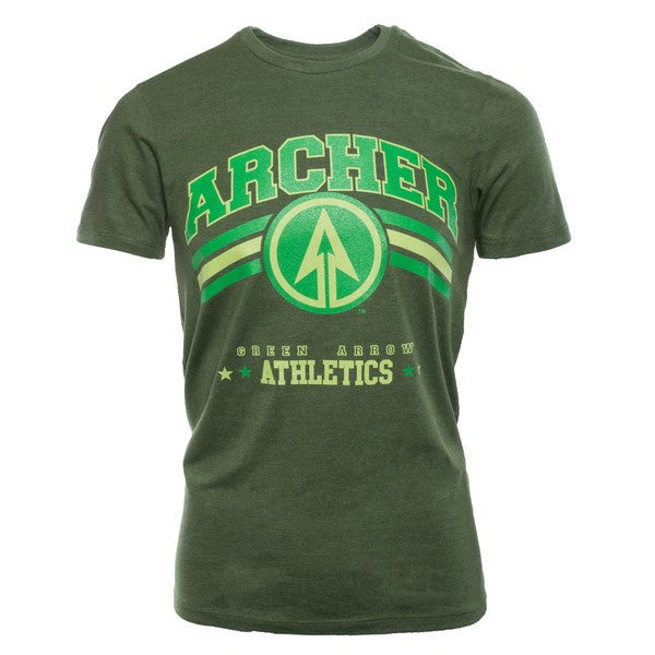 Green Arrow - T-Shirt Archer Athletic Shirts, Collekt - Collekt.co.uk
