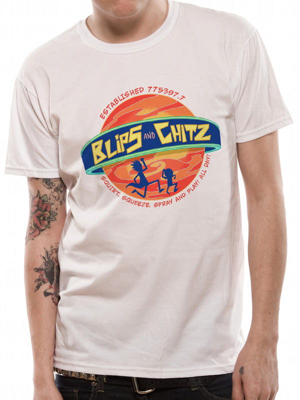 Rick And Morty - Blips And Chitz - Unisex T-Shirt