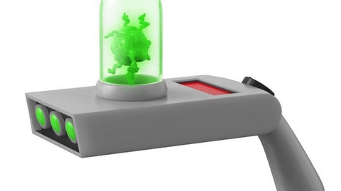 Rick and Morty - Rick's Portal Gun - Light Up  - PREORDER