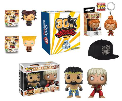 Street Fighter - 30th Anniversary Box