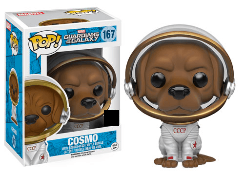 Guardians of the Galaxy - Cosmo (167) Pop! Vinyl, Funko - Collekt.co.uk
