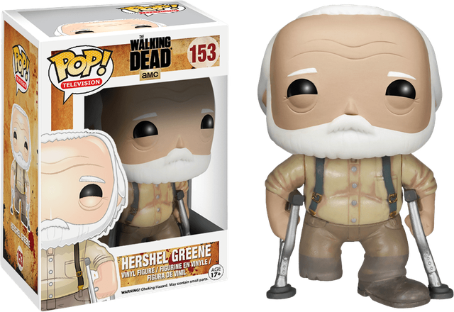 Walking Dead - Hershel Greene (153) Pop! Vinyl, Funko - Collekt.co.uk