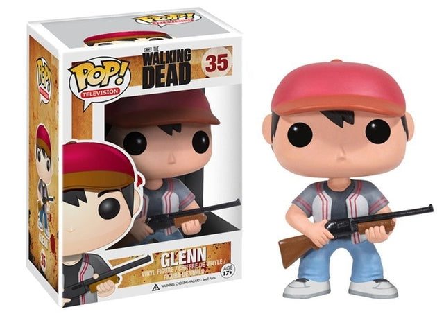Walking Dead - Glenn (35) Pop! Vinyl, Funko - Collekt.co.uk