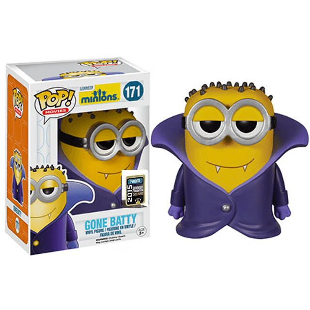Minions - Gone Batty - SCE (171) Pop! Vinyl, Funko - Collekt.co.uk
