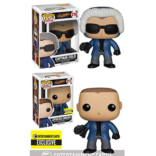 Flash - Captain Cold/Captain Cold Unmasked (216/217) - Collekt