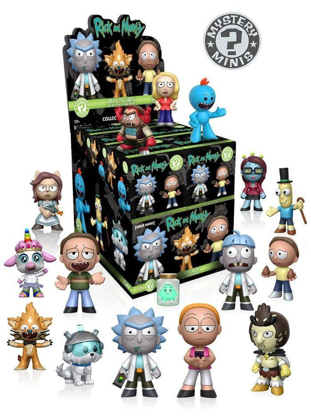 Rick and Morty - Full Case (12 Pc) - PREORDER Mystery Mini, Funko - Collekt.co.uk