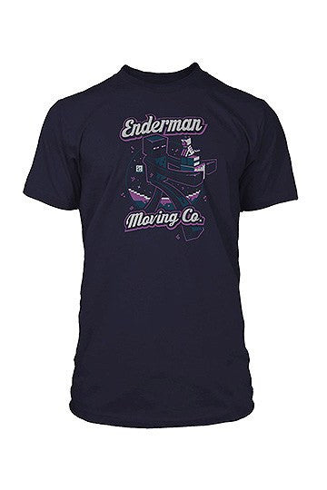 Minecraft - T-Shirt Enderman Moving Company Shirts, Collekt - Collekt.co.uk