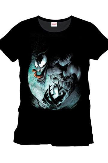 Marvel Comics T-Shirt Black Venom - Collekt.co.uk - Funko Pop Vinyl - UK Stock!!