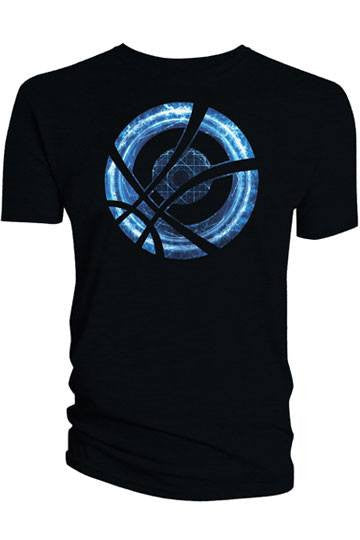 Doctor Strange T-Shirt Blue Symbol Circle black - Collekt.co.uk - Funko Pop Vinyl - UK Stock!!