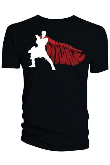 Doctor Strange T-Shirt Cape Vector black Shirts, Collekt - Collekt.co.uk