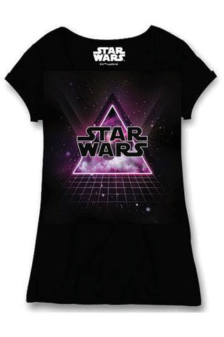 Star Wars Ladies T-Shirt Dance Floor - Collekt.co.uk - Funko Pop Vinyl - UK Stock!!