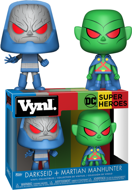 DC Comics - Darkseid + Martian Manhunter - VNYL