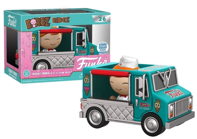 Funko - Freddy Funko with Ice Cream Truck (26) Dorbz, Funko - Collekt.co.uk