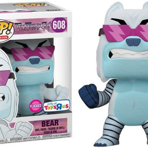 DC Comics - Teen Titans Go - Bear - Flocked (608) - Collekt
