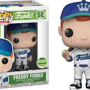 Funko - Freddy Funko - Baseball - White Uniform - ECCC (SE)