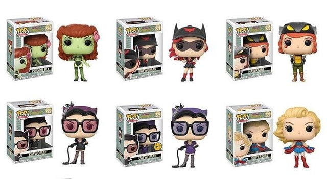 DC - Bombshells - Wave 2 - Funko Pop Vinyl Collection (221-225)