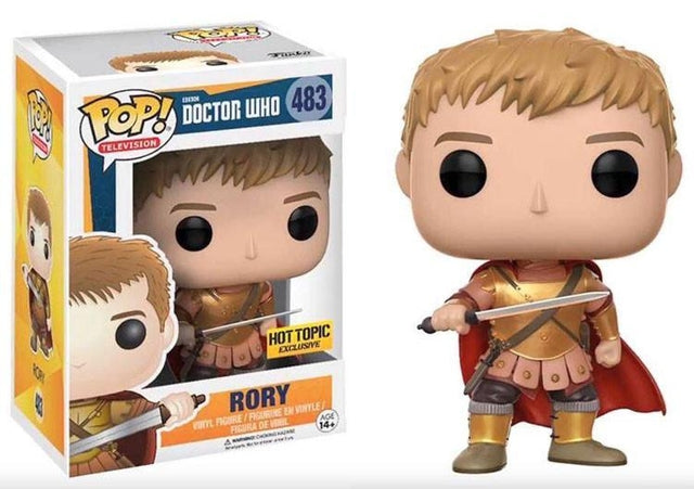 Funko Pop Television - Doctor Who - Rory (483) Pop! Vinyl, Funko - Collekt.co.uk