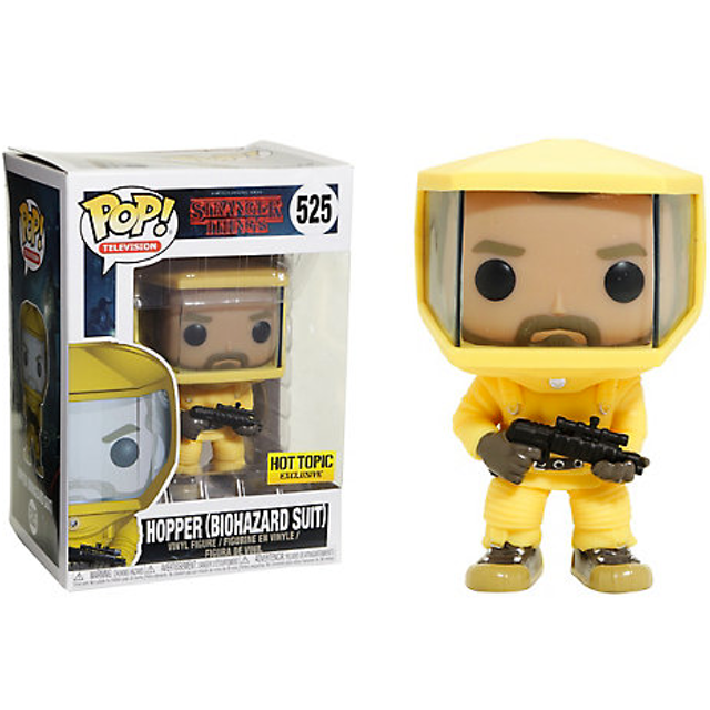 Stranger Things - Hopper - Biohazard Suit (525)