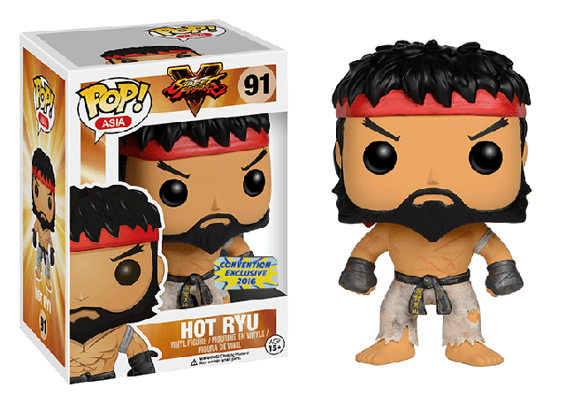 Street Fighter - Hot Ryu - Con Exc (91) Pop! Vinyl, Funko - Collekt.co.uk
