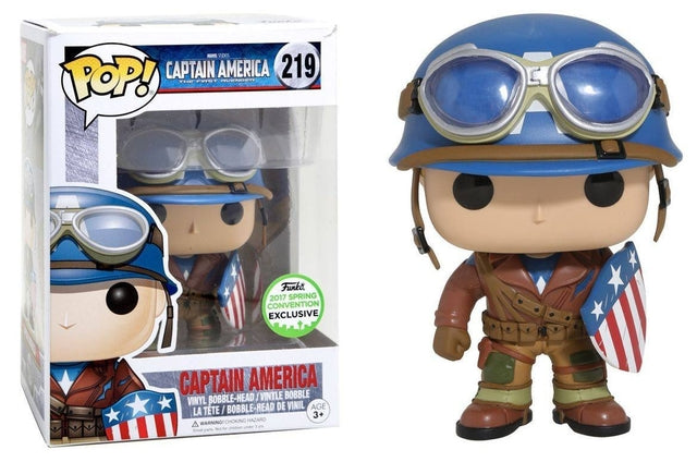 Captain America First Avenger - Captain America - SCE (219) Pop! Vinyl, Funko - Collekt.co.uk