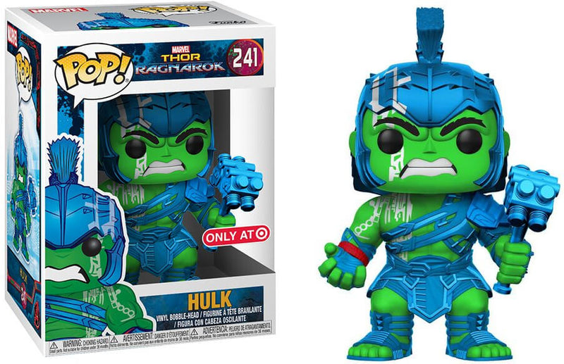 Marvel - Thor Ragnarok - Hulk - Blue/Green (241)