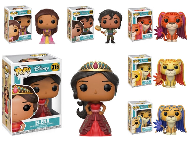 Disney - Elena of Avalor - Funko Pop Collection (316-321)