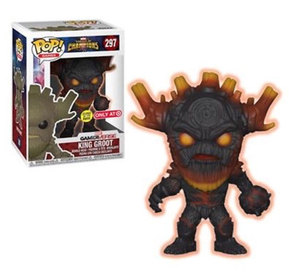 Marvel - Contest of Champions - King Groot - GITD (297) - Collekt
