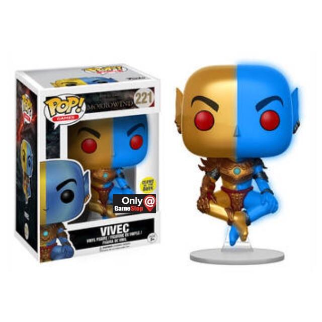 Elder Scrolls Morrowind - Vivec - GITD (221) Pop! Vinyl, Funko - Collekt.co.uk