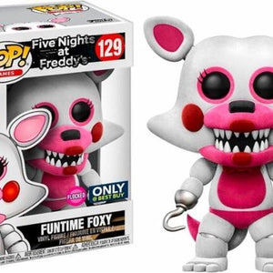 FNAF - Fun Time Foxy - Flocked (129)