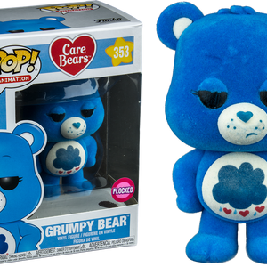 Care Bears - Grumpy Bear - Flocked (353) - Collekt
