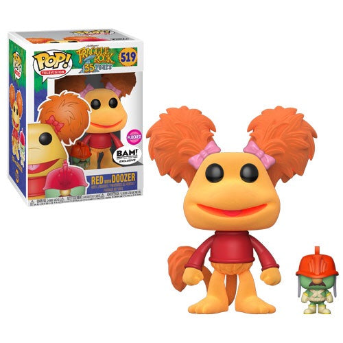 Fraggle Rock - Red with Doozer - Flocked (519) - Collekt