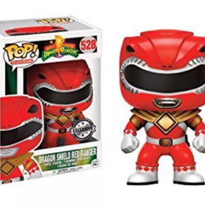 Mighty Morphin Power Rangers - Dragon Shield Red Ranger (528) - Collekt