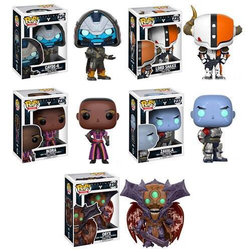 Funko Pop Games - Destiny Collection - PREORDER