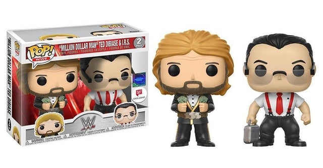 WWE - Million Dollar Man and Ted Dibiase IRS - 2 Pack