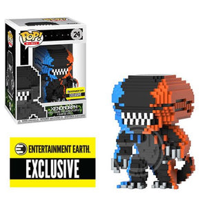 8-Bit - Alien - Xenomorph - Blue/Orange (24)