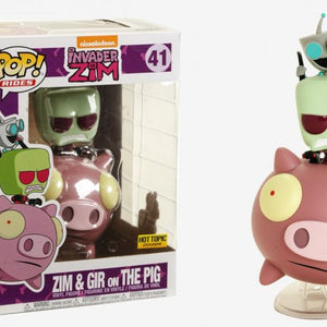 Nickelodeon - Invader Zim - Zim & Gir on the Pig (41)