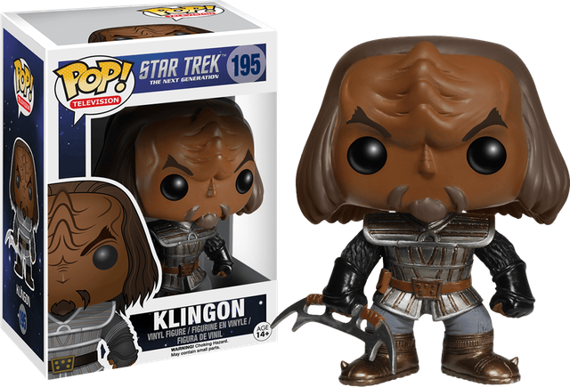 Star Trek - Klingon (195) - Collekt.co.uk - Funko Pop Vinyl - UK Stock!!