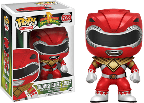 Mighty Morphin Power Rangers - Dragon Shield Red Ranger (528) - PREORDER