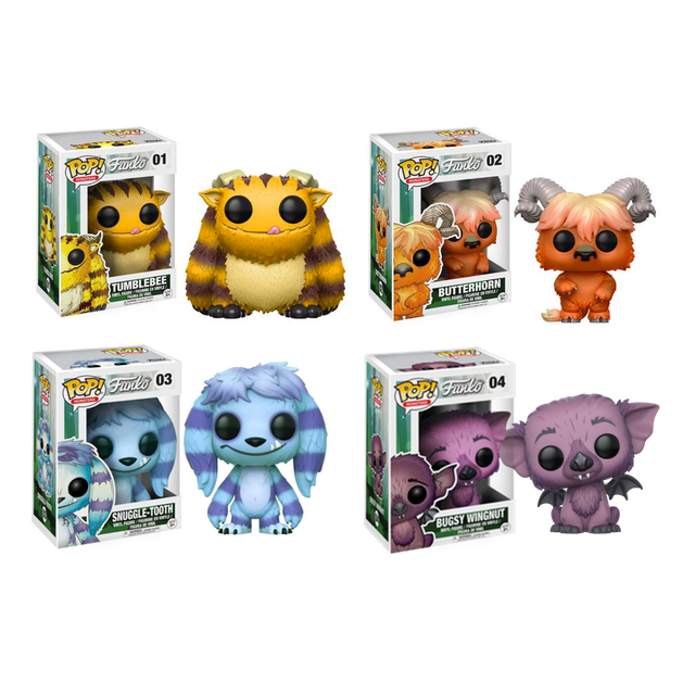 Funko Monsters - Box Damaged Pop Vinyl Collection (01-04)