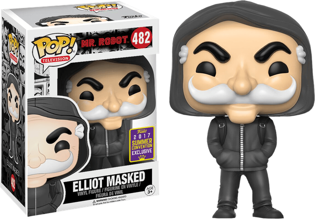 Mr Robot - Elliot Masked - SEC (482) Pop! Vinyl, Funko - Collekt.co.uk