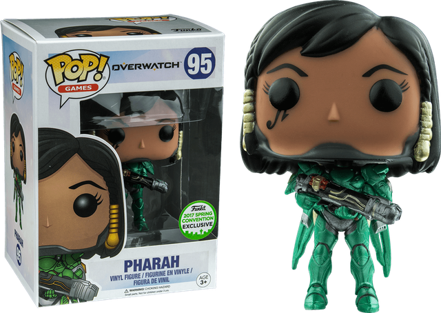 Overwatch - Pharah - Emerald  - ECCC (95) Pop! Vinyl, Funko - Collekt.co.uk