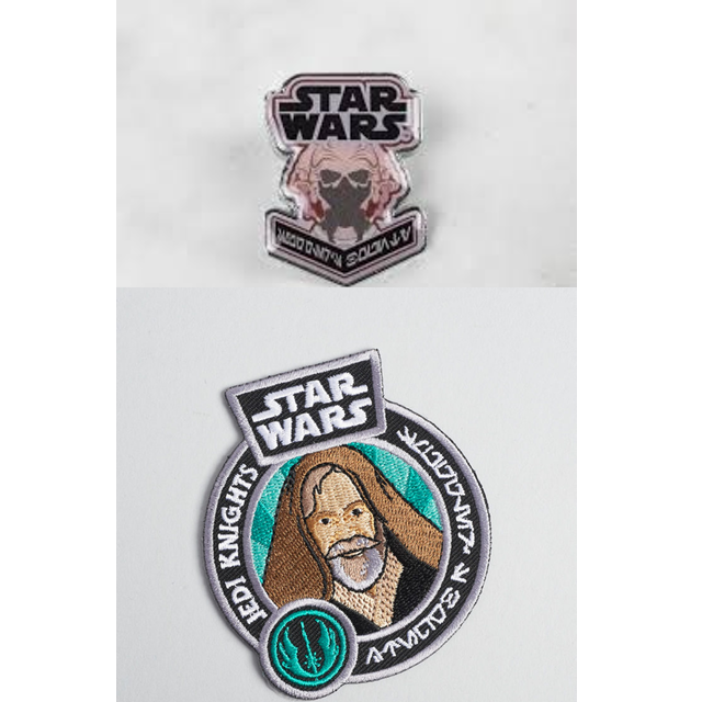 Star Wars - Smugglers Bounty September 2017 - Patch and Pin