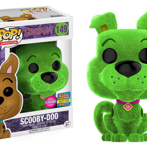 Scooby Doo - Scooby Doo - Green - Flocked - SDCC (149)
