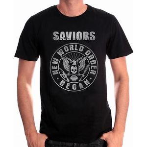 Walking Dead T-Shirt Saviors Rock