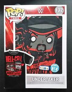 WWE - Undertaker - Pop Tee! Shirts, Funko - Collekt.co.uk