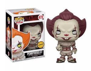 IT - Pennywise - with Boat - Blue Eyes - Chase (472)