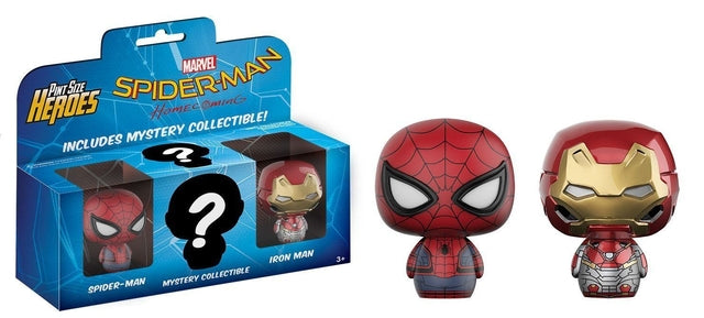 Spider-Man Homecoming - Spider-Man/Iron Man Pint Size Heroes, Funko - Collekt.co.uk