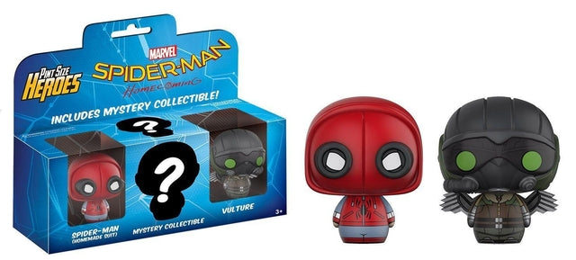 Spider-Man Homecoming - Home Made Suit/Vulture Pint Size Heroes, Funko - Collekt.co.uk